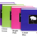 4x6 photo albums brights and pastels