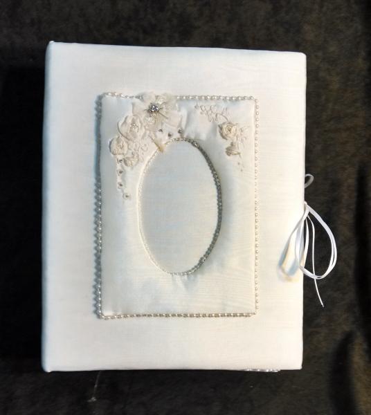 Clearance wedding album w silk flowers 200 46 mightylinksfo
